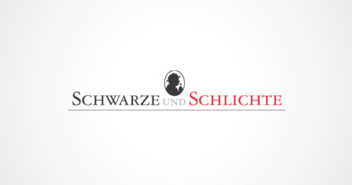 Schwarze und Schlichte Logo