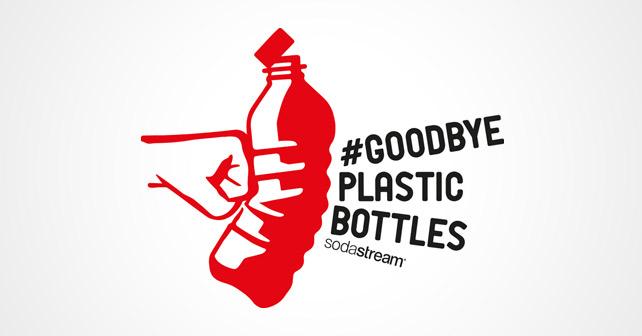 SodaStream Goodbye Plastic Bottles