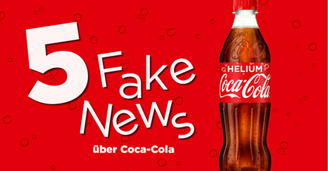 5 Fake News über Coca-Cola