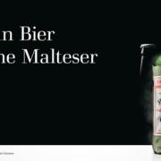 Kein Bier ohne Malteser Plakat