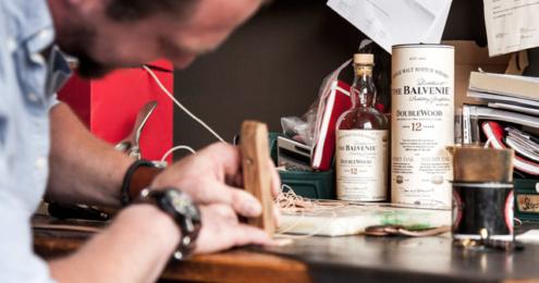The Balvenie 5 Crafts Collection: Barschürze