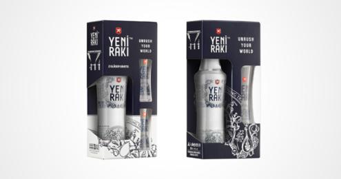 Yeni Raki Design-Gläser Promotion