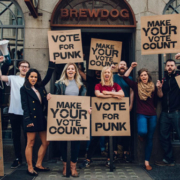 "BrewDog ""Vote for Punk"""