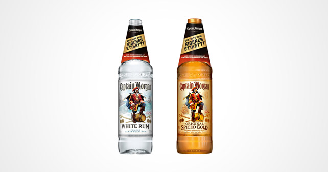 Captain Morgan Etiketten Neckhanger