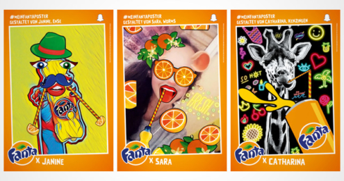 Fanta X You Plakate Teenager