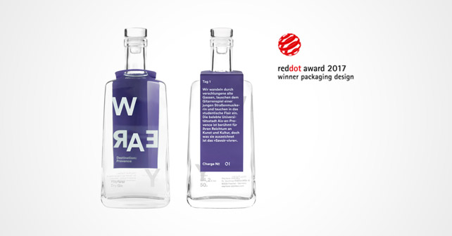 Wayfarer Gin Red Dot Award 2017