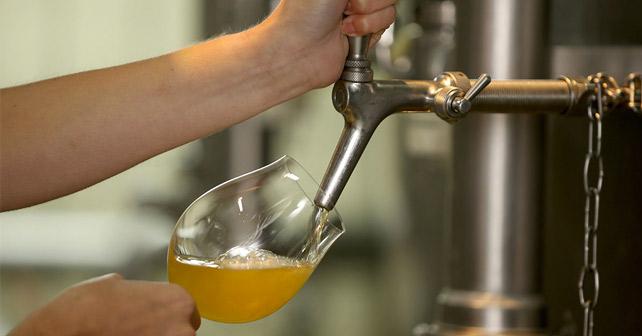 Die Freien Brauer Bier Zapfen