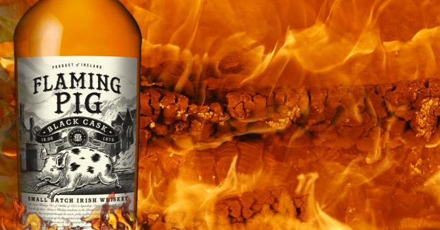 Flaming Pig Whiskey
