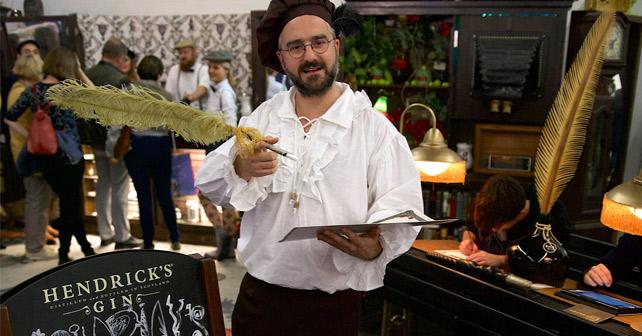 Hendrick's Gin Frankfurter Buchmesse