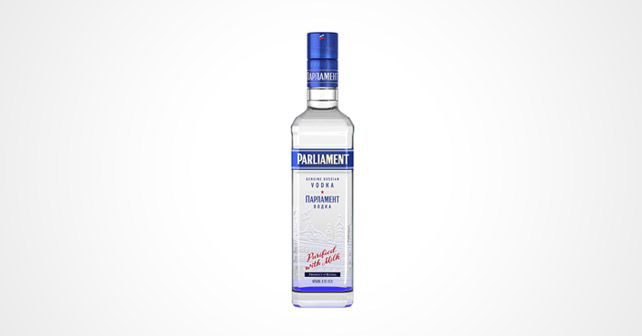 Parliament Vodka neues Design 2017