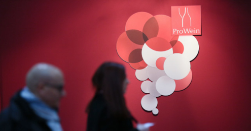 ProWein Logo Wand