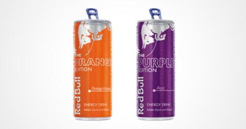 Red Bull Orange Purple Edition