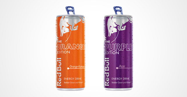 Red Bull Orange Purple Edition