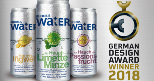 RHODIUS Water German Design Award