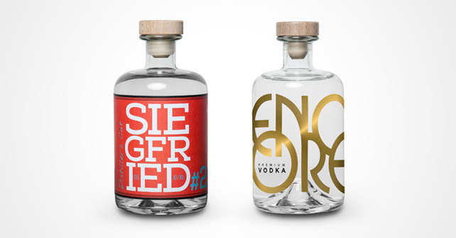 SIEGFRIED Distillers Cut#2 und encoreVodka