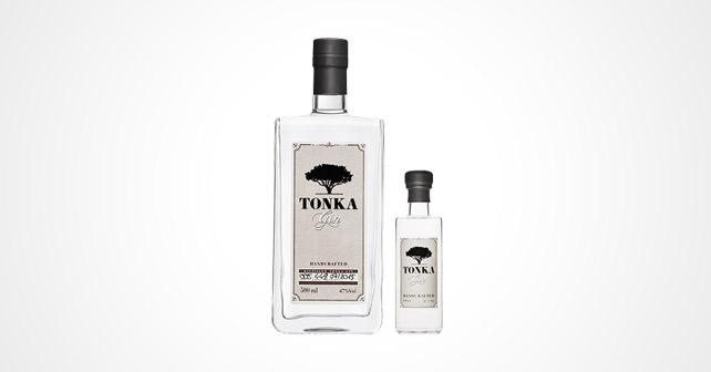 Tonka Gin Flaschen