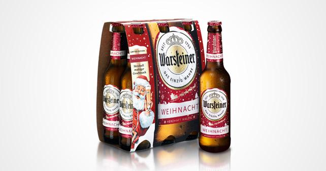 Warsteiner Weihnacht Relaunch