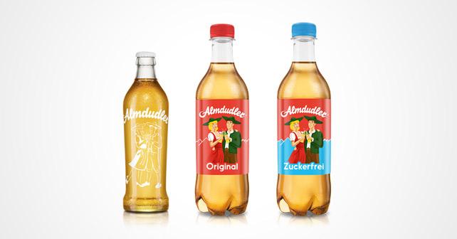 Almdudler Flaschen 350 500 ml