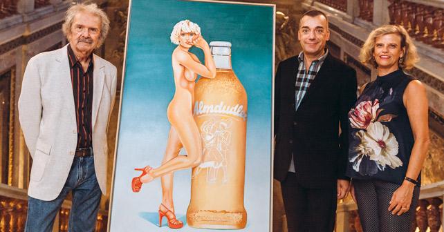 Almdudler Pop Art Mel Ramos