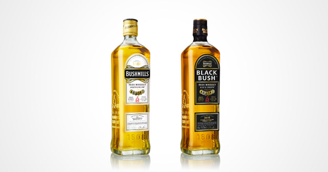 Bushmills Original Black Bush Redesign