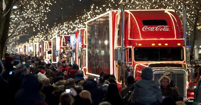 Coca-Cola Weihnachtstrucks 2017