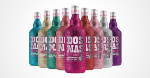 DOS MAS Bottely Glitzerflaschen