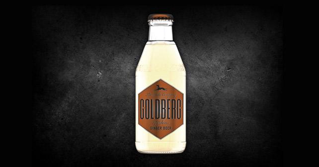 GOLDBERG Ginger Beer Flasche