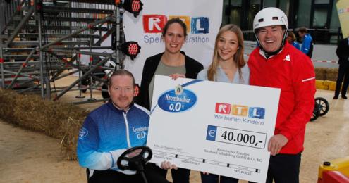 Krombacher o,0% RTL Spendenmarathon 2017