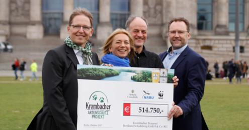 Krombacher Artenschutz-Projekt 2017