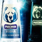 Puschkin Vodka Glow in the Dark Edition