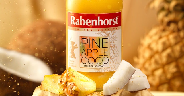 Rabenhorst Pineapple Coco Berlinale 2018