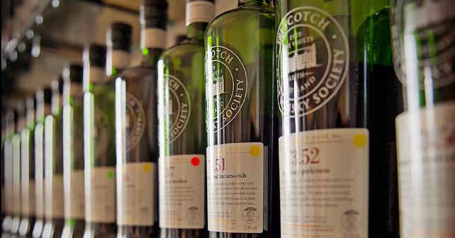 The Scotch Malt Whisky Society Flaschen