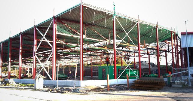 AQUA RÖMER Lagerhalle Neubau