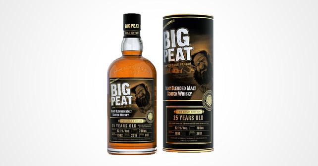 Big Peat 25 yo Gold Edition