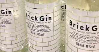 Brick Gin neues Design