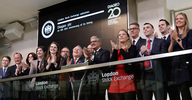 Diageo 20 Jahre London