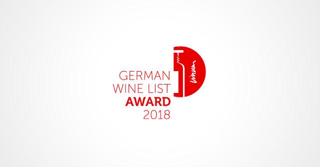 German Wine List Award 2018 Logo