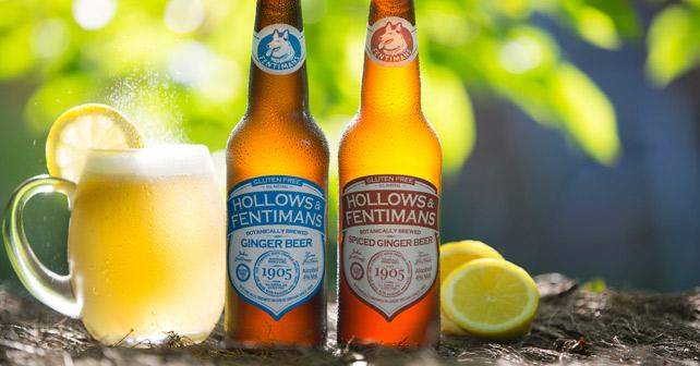 HOLLOWS & FENTIMANS alkoholisches Ginger Beer