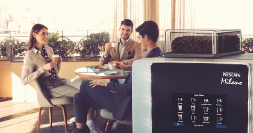 Nestlé Professional Nescafé Maschine ganze Bohne