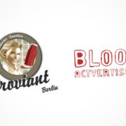 Proviant BLOOD Actvertising Logos