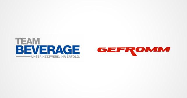 Team Beverage Gefromm Logos