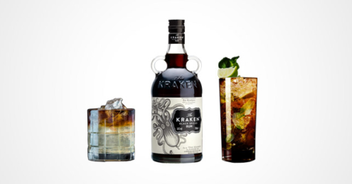The Kraken Rum Perfect Storm Black Mojito