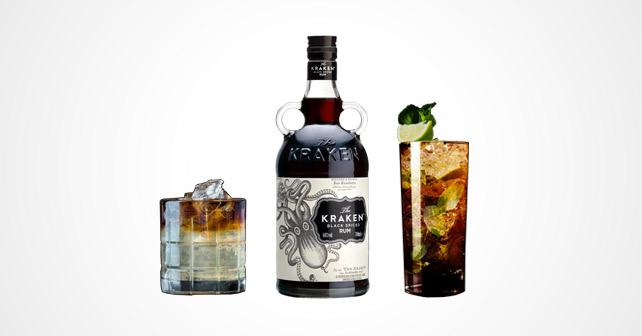 The Kraken Rum Perfect Storm Black Mojito