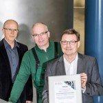 """Veltins Auszeichnung """"Leuchttürme Energieeffiziente Abwärmenutzung"""""""