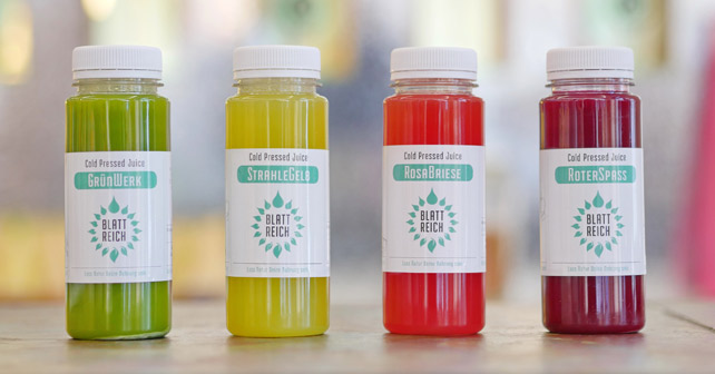 BlattReich Cold Pressed Juices