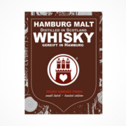 Hamburg Malt Whisky 2 Etikett