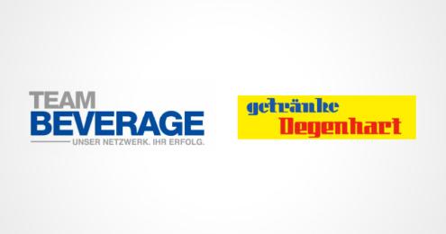 Tem Beverage Getränke Degenhart Logos