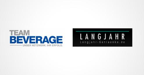 Team Beverage Langjahr Getränke Logos