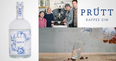 Teaser Prütt Kaffee Gin