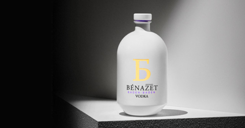 BÈNAZET VODKA Design